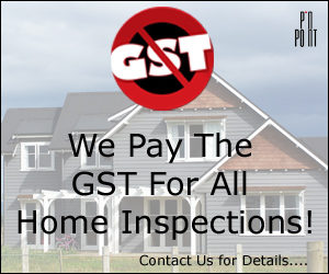 No GST on Home Inspections